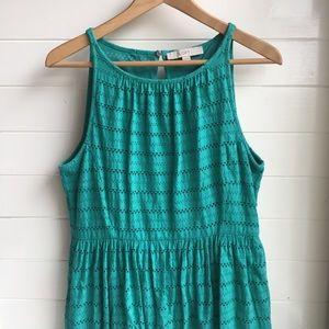 [LOFT] Teal Blue Dress